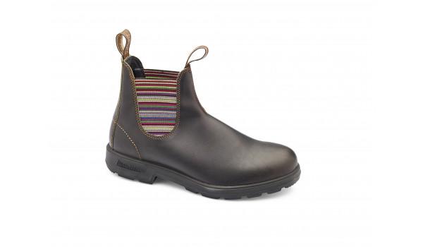 1409 Boot Women, Light Grey/Cerulean Blue 1