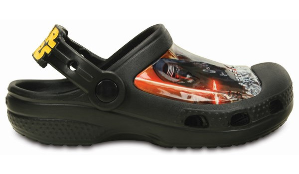 Kids Creative Crocs Star Wars Clog, Black 1