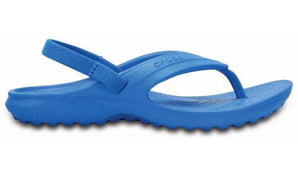 Kids Classic Flip, Light Grey/Cerulean Blue 1