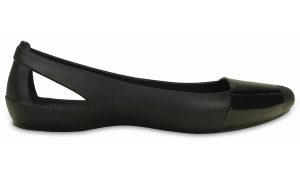 Sienna Shiny Flat, Black/Black 1