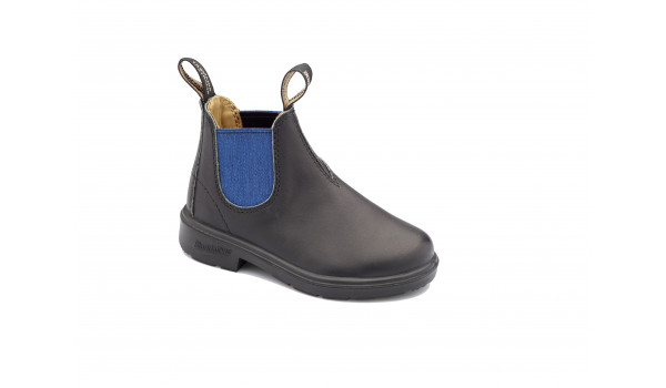Kids 580 Boot, Light Grey/Cerulean Blue 1