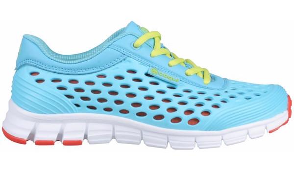 Sira Sneaker, Light Grey/Cerulean Blue 1