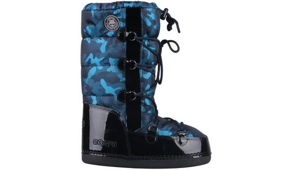 Taina Snowboot, Light Grey/Cerulean Blue 1