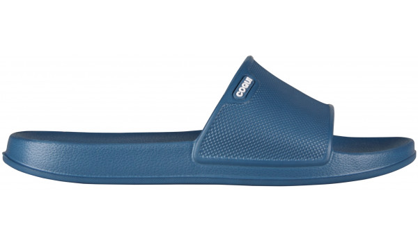 Tora Slide, Light Grey/Cerulean Blue 1