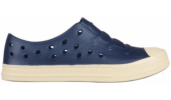 Rento Sneaker, Light Grey/Cerulean Blue 1