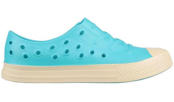 Kids Rento Sneaker, Light Grey/Cerulean Blue 1