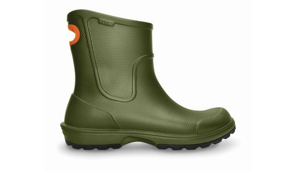Wellie Rain Boot Men, Army Green 1