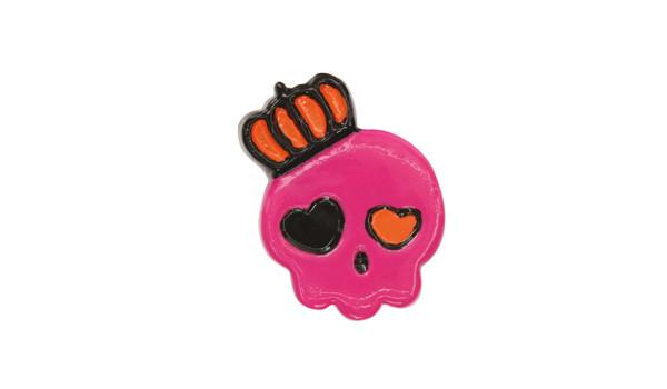 Charms Sneaker Pink Crown Skull, Charms Sneaker Pink Crown Skull