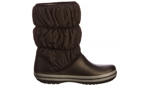 Winter Puff Boot, Black/Charcoal 1