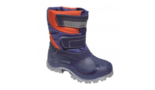 Kids Simon Boot, Light Grey/Cerulean Blue 1