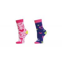 Crocs Socks Back to School Girls 2er-Pack