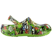 Kids Big Frog Printed Clog
