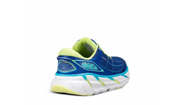Clifton 2 Women, True Blue/Sunny Lime 2
