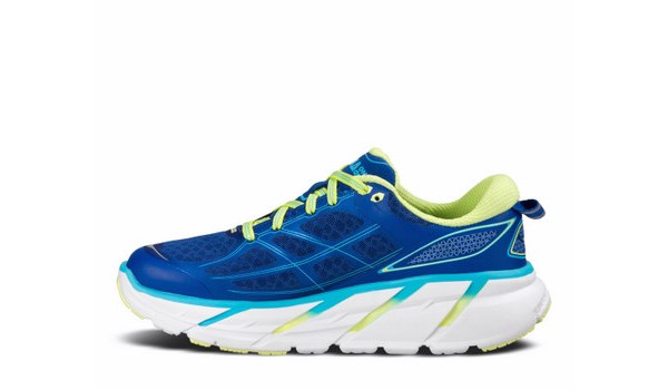 Clifton 2 Women, True Blue/Sunny Lime 4