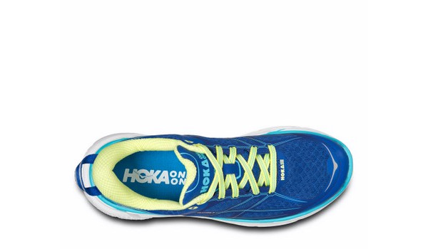 Clifton 2 Women, True Blue/Sunny Lime 6