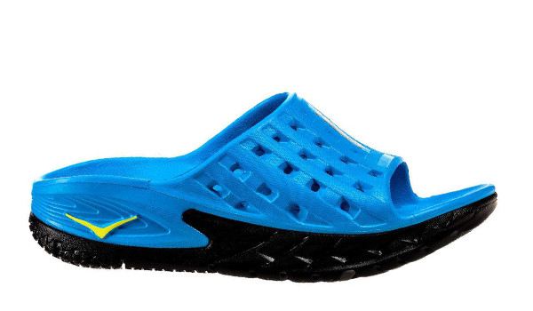 Ora Recovery Slide Men, Black/Process Blue 1