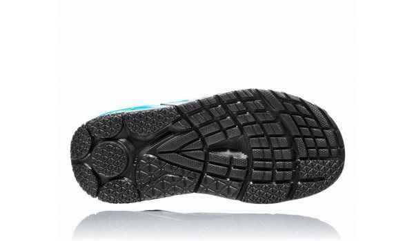Ora Recovery Slide Men, Black/Process Blue 3