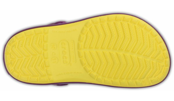 Kids Crocband, Sunshine/Amethyst 3