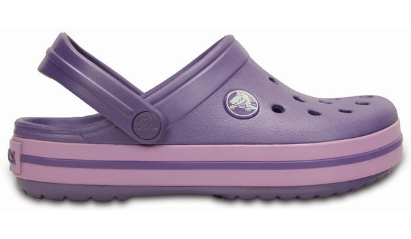 Kids Crocband, Blue Violet/Iris 1
