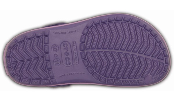 Kids Crocband, Blue Violet/Iris 3