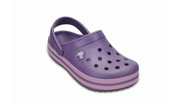 Kids Crocband, Blue Violet/Iris 5