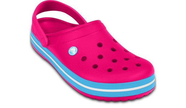 Crocband, Candy Pink/Bluebell 5