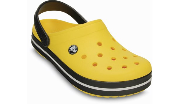 Crocband, Yellow/Black 5