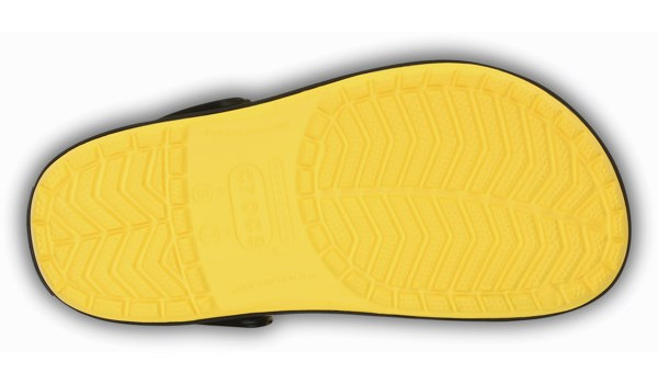 Crocband, Yellow/Black 3