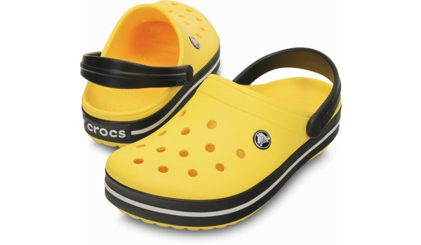 Crocband, Yellow/Black 4