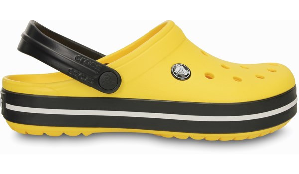 Crocband, Yellow/Black 1