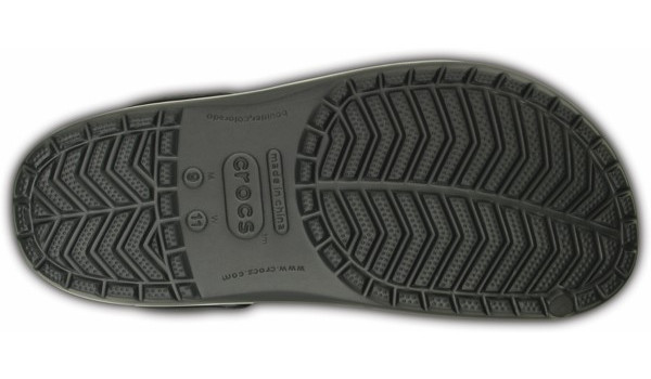 Crocband, Graphite/Grass Green 3