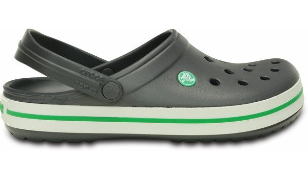 Crocband, Graphite/Grass Green 1