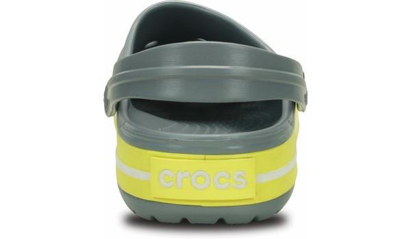 Crocband, Concrete/Chartreuse 2