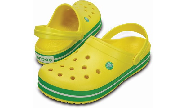 Crocband, Lemon/Grass Green 4