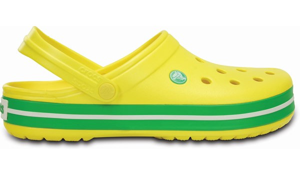 Crocband, Lemon/Grass Green 1