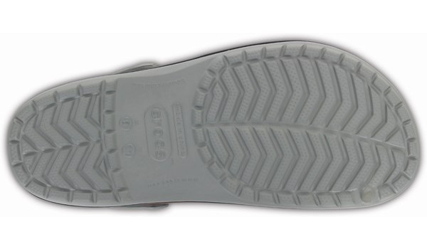 Crocband, Light Grey/Navy 3