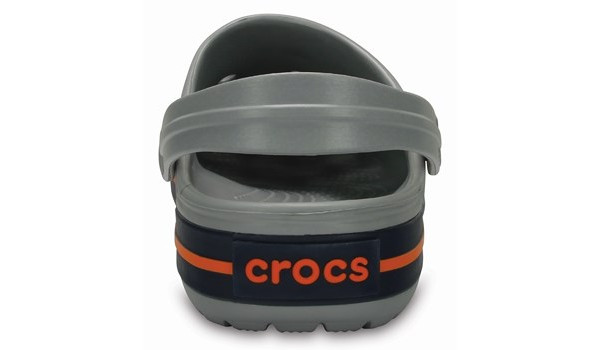 Crocband, Light Grey/Navy 2
