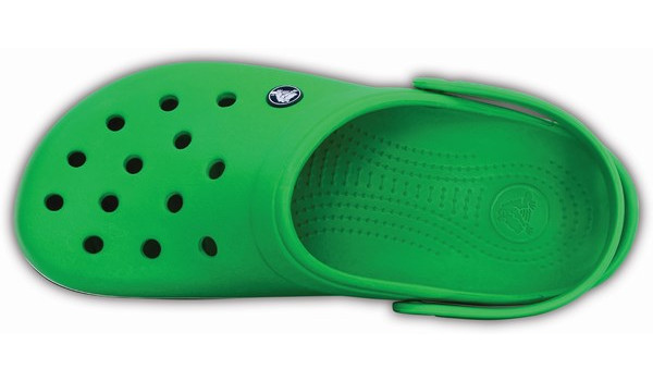 Crocband, Grass Green/White 6