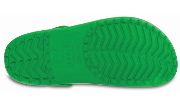 Crocband, Grass Green/White 3