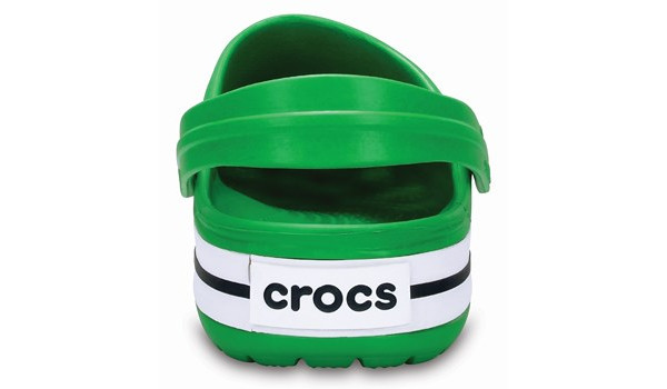 Crocband, Grass Green/White 2