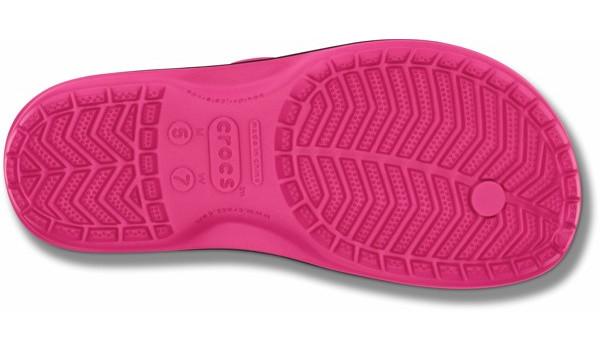 Crocband Flip, Candy Pink 3