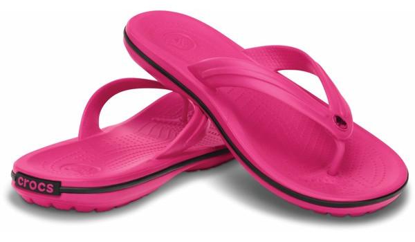 Crocband Flip, Candy Pink 4