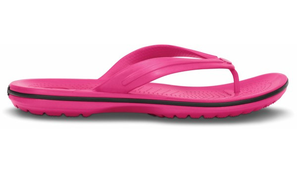 Crocband Flip, Candy Pink 1