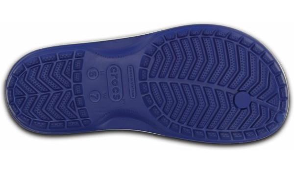 Crocband Flip, Cerulean Blue/White 3