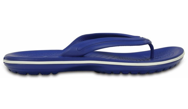 Crocband Flip, Cerulean Blue/White 1