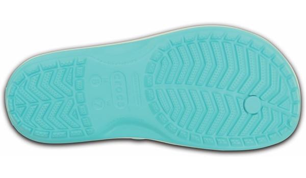 Crocband Flip, Pool/White 3