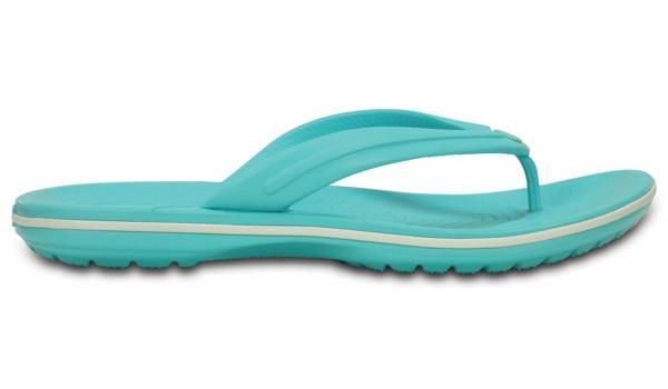 Crocband Flip, Pool/White 1