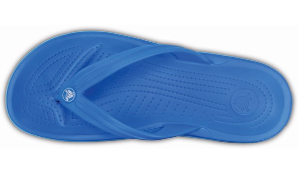 Crocband Flip, Ocean/Electric Blue 6
