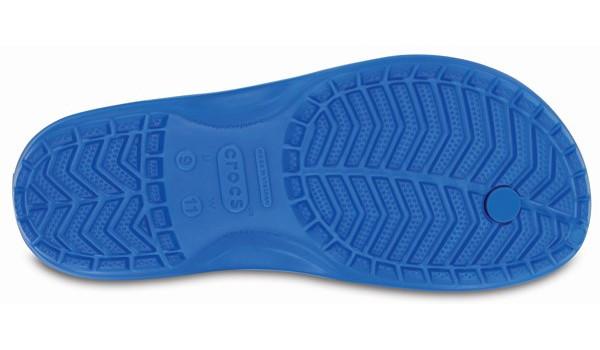 Crocband Flip, Ocean/Electric Blue 3