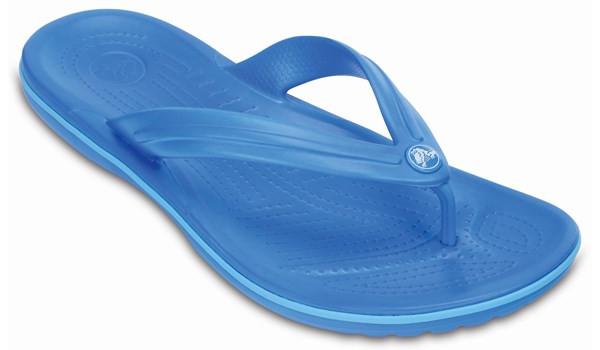 Crocband Flip, Ocean/Electric Blue 5